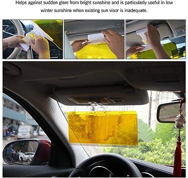 Tac Visor Day Night Anti Glare Visor-Driving HD Vision Car Glasses Anti-Glare