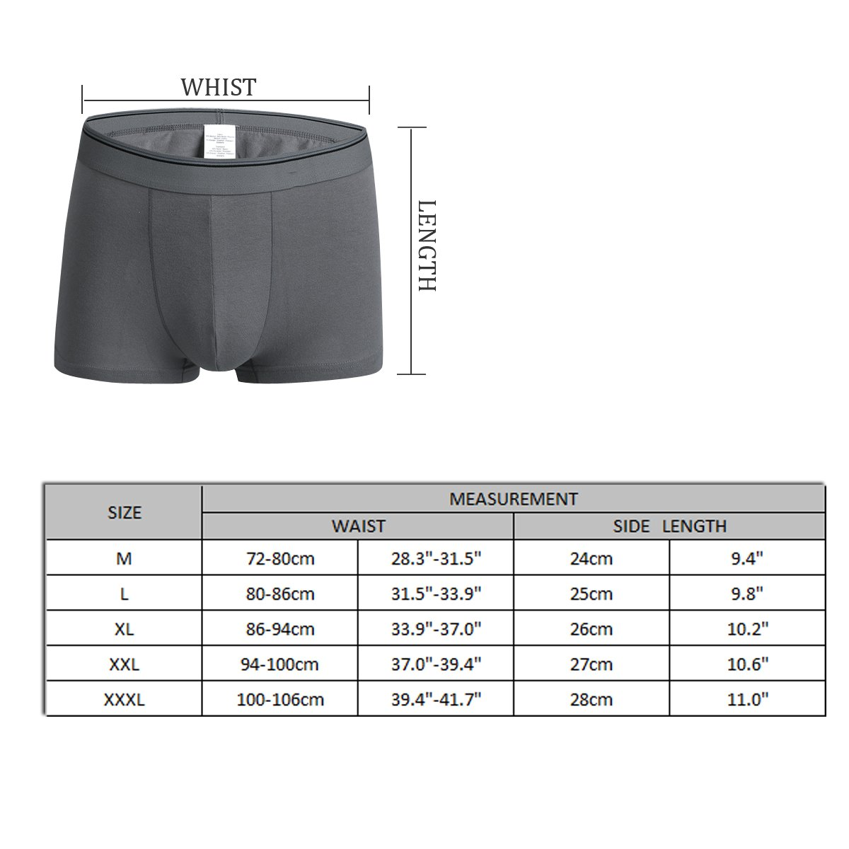 Love Racoons Men's Comfort Stretch Seamless Boxer Briefs Underwear by BAPALA (Image #2)
