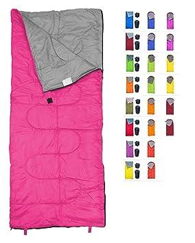 REVALCAMP Saco de Dormir para Uso Interior y Exterior. Ideal para ...