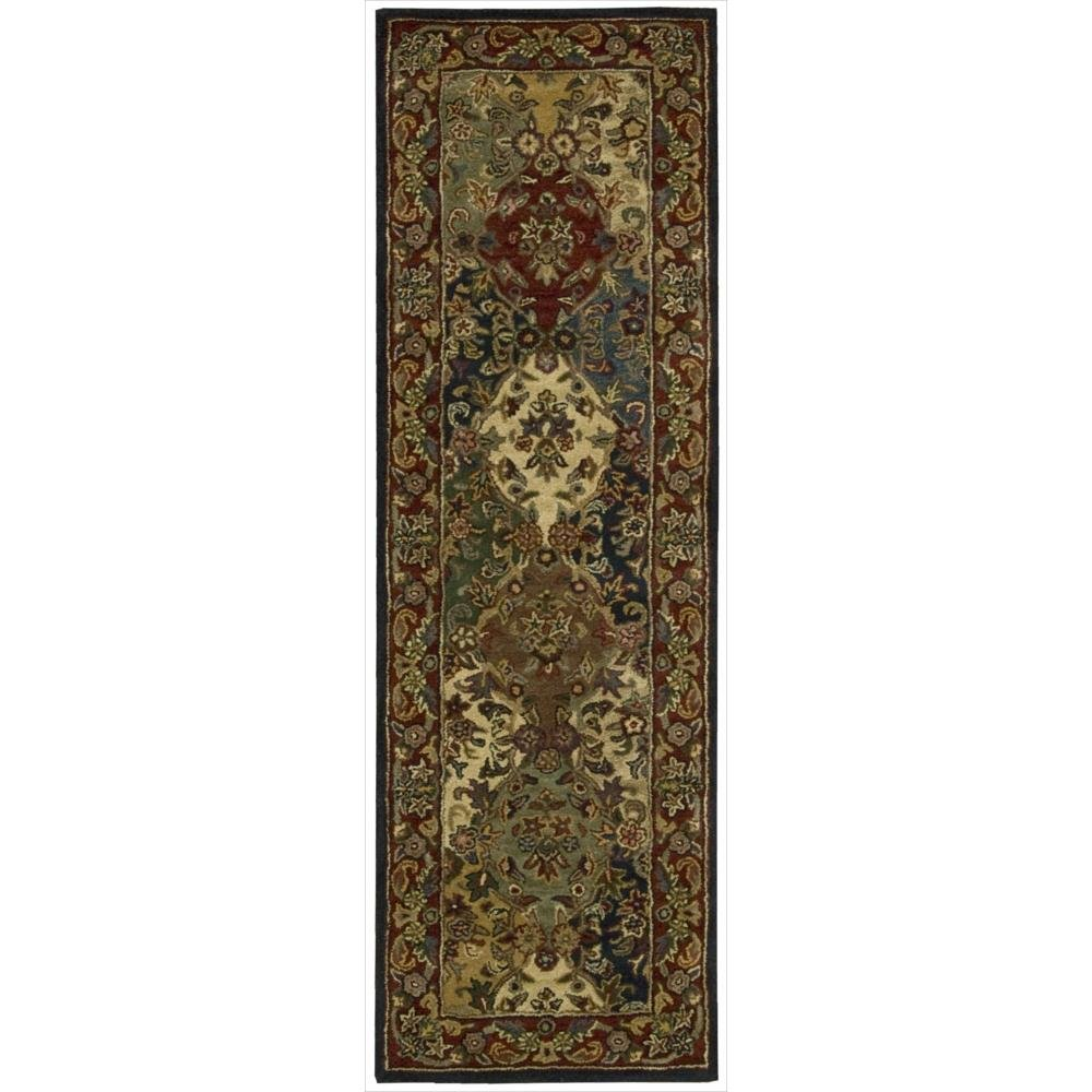 Nourison India House (IH23) Multicolor Rectangle Area Rug, 2-Feet 6-Inches by 4-Feet (2'6'' x 4')