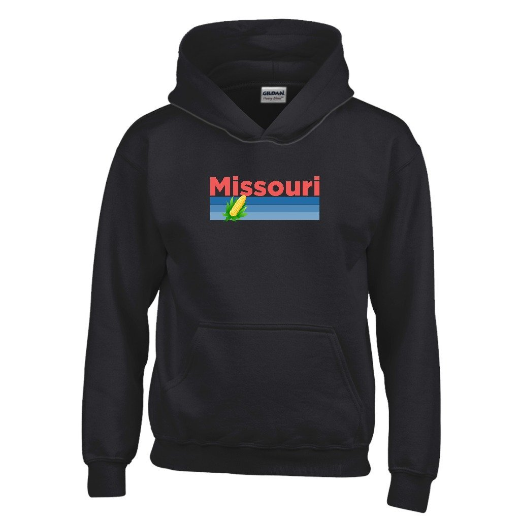 Kids Sweatshirt Tenn Street Goods Missouri Retro Corn /& Farm Youth Hoodie