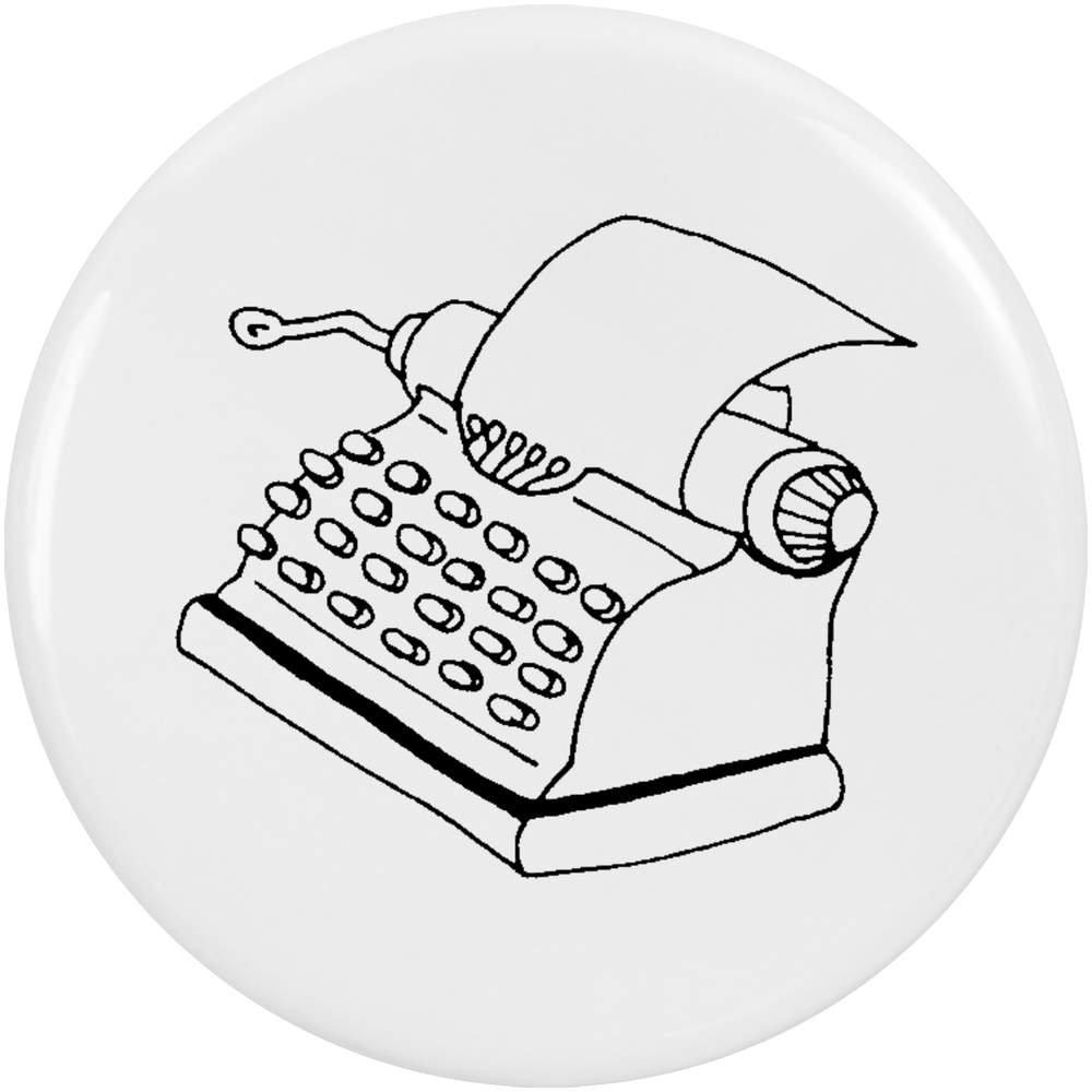 Azeeda 2 x 38mm Máquina de Escribir Insignia de Botones Pin (BB00038995): Amazon.es: Juguetes y juegos