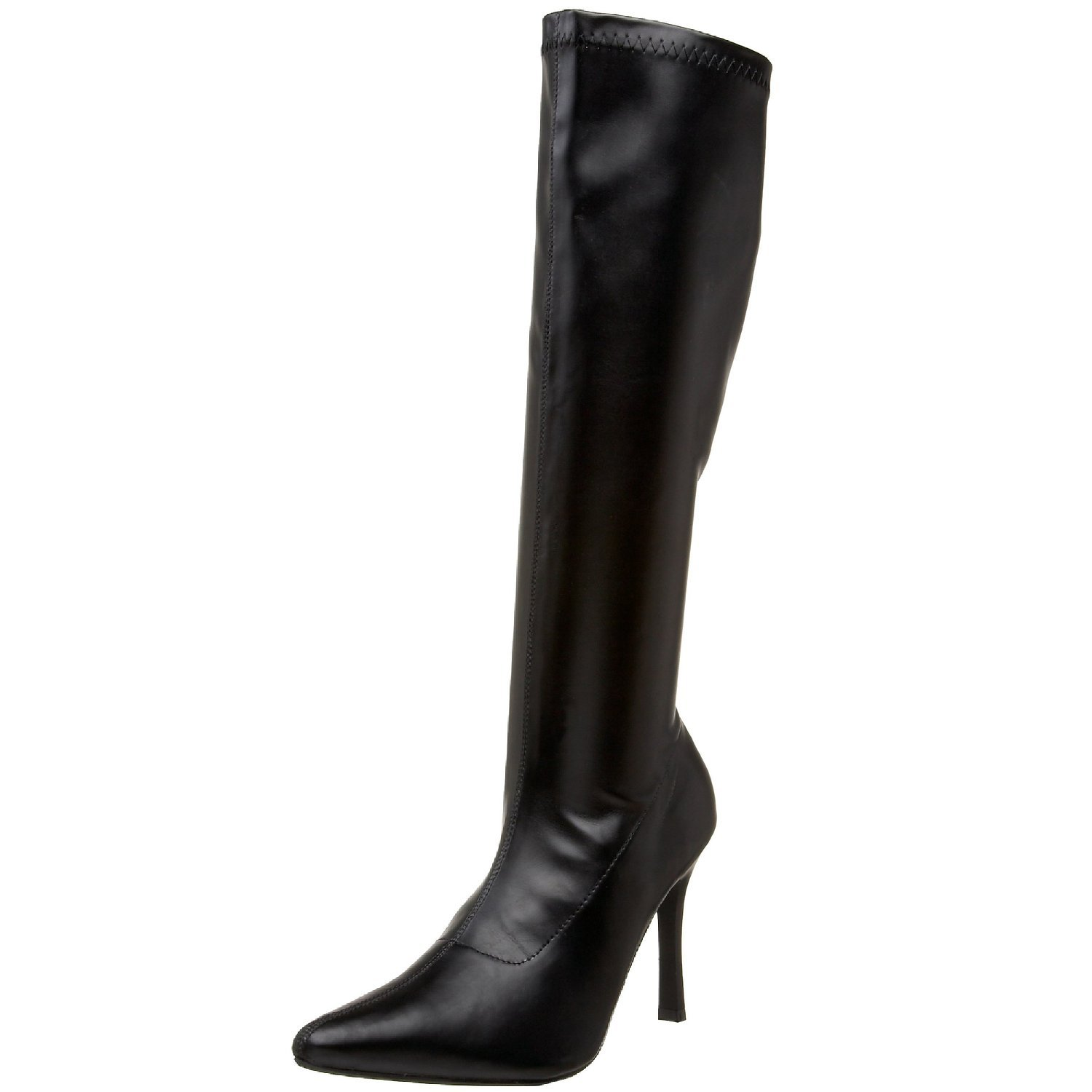 Funtasma LUST-2000 womens Black Stretch Polyurethane Boots Size - 7