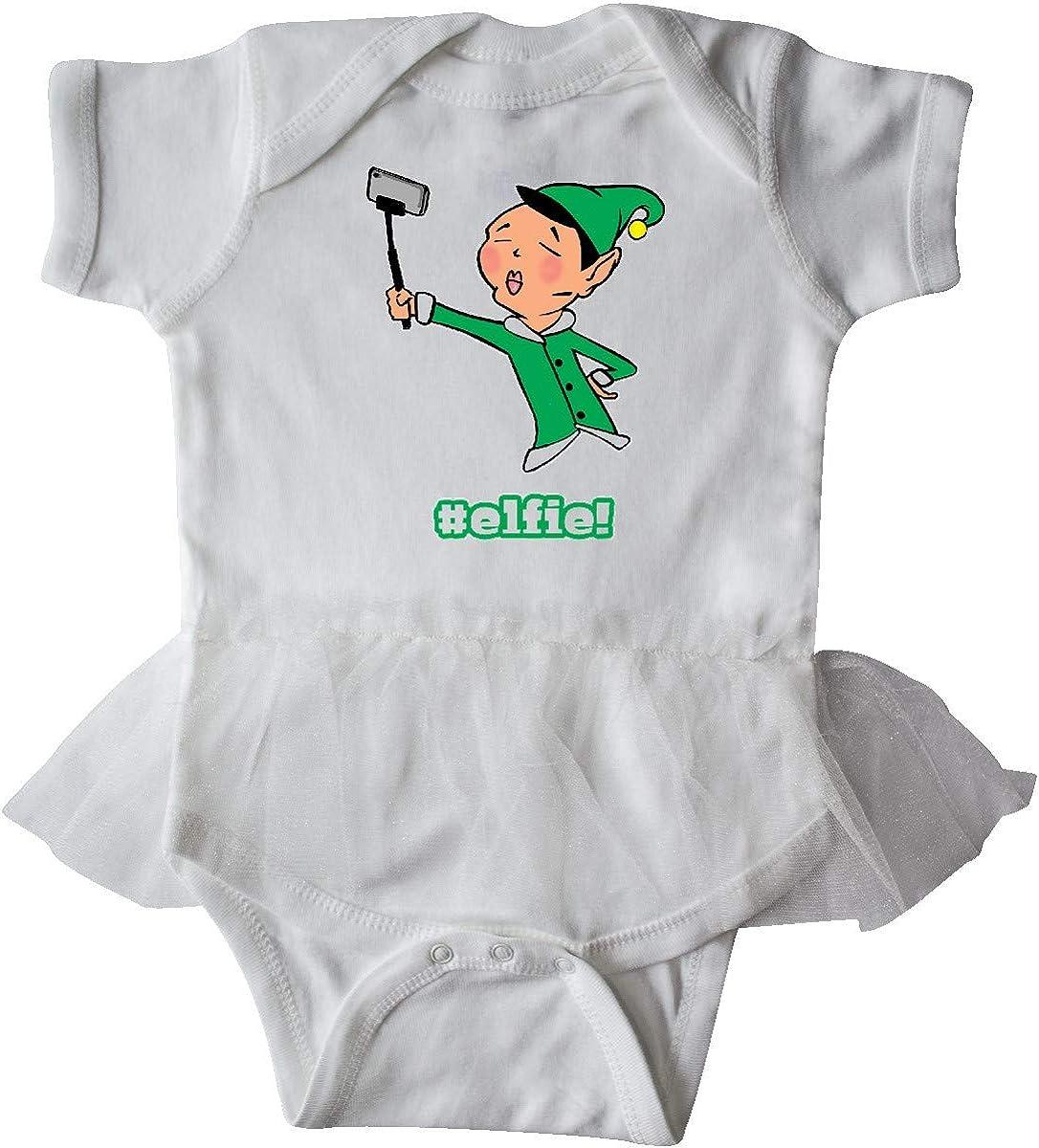 inktastic Elfie Infant Tutu Bodysuit