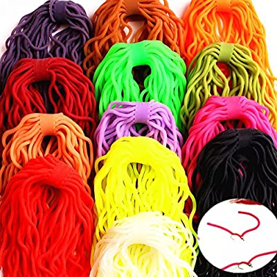 GUANYUAN TOYS Fly Flies Lures Baits San Juan Squirmy Wormy Making Fly Tying Worm Body Material Soft Lure Ultra Stretchy For Flying Fishing