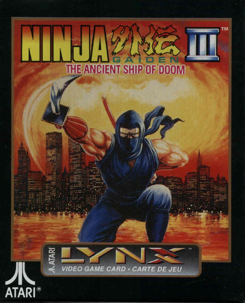 Amazon.com: Atari Lynx Ninja Gaiden III: Video Games