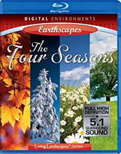 Living Landscapes: Earthscapes - Four Seasons [Blu-ray]