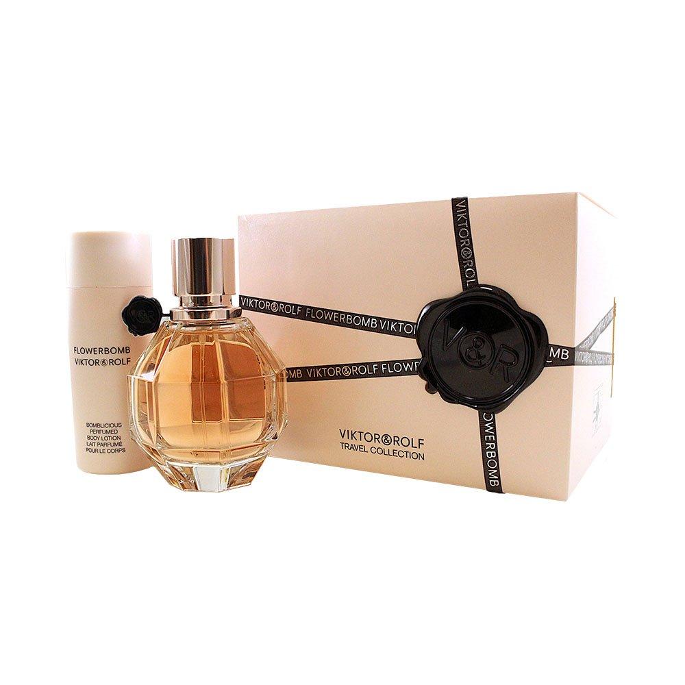 Viktor & Rolf Flowerbomb Set de Perfume con vaporizador y loción corporal 50 ml