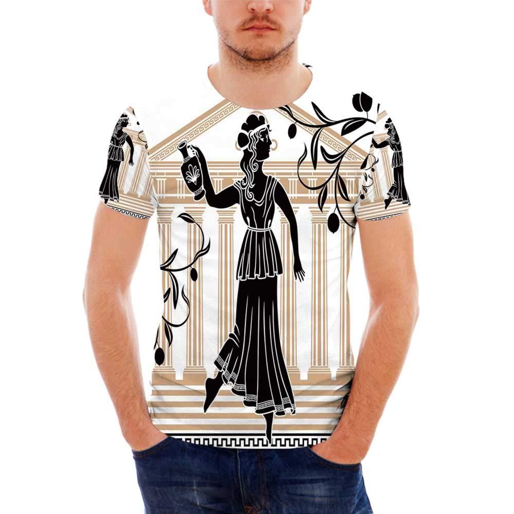 Flower Fashionable T Shirt,for Men,S