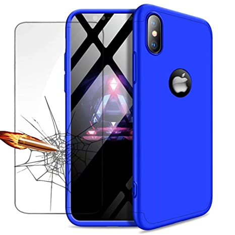 coque bleue iphone xr