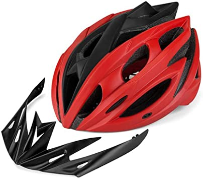 BTAWM Casco Bicicleta de montaña Carretera Bicicleta Seguridad ...