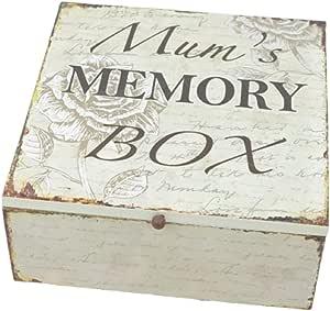 Caja de recuerdos de mariposas para mamá, SG1746: Amazon.es: Bricolaje y herramientas