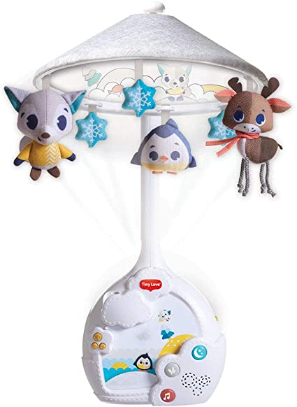 Tiny Love Polar Wonders Magical Night Carrusel cuna bebe, Movil ...