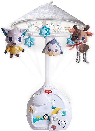 Oferta amazon: Tiny Love Magical Night Carrusel cuna bebé, Movil musical y proyector con luz nocturna de estrellas, 9 melodias 30 minutos de musica continua, Polar Wonders