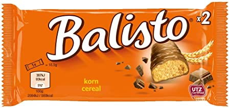 balisto 332003 Chocolate balisto grano Mix 20 ST: Amazon.es ...