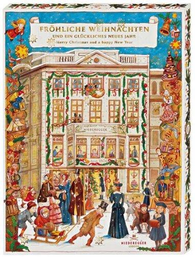 Niederegger Marzipan - Cafe Niederegger Advent Calendar - 525 g/18.67 oz