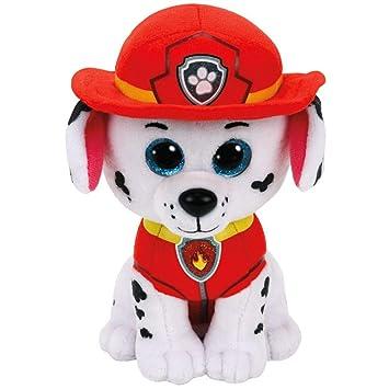 Ty Paw Patrol - Patrulla Canina - Selección Figura de Peluche con Ojos Brillantes, Figura