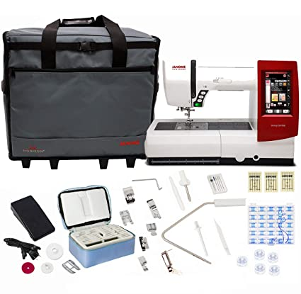 8e3a1650 Amazon.com: Janome Horizon Memory Craft 9900 Sewing and Embroidery Machine  With Exclusive Bonus Bundle