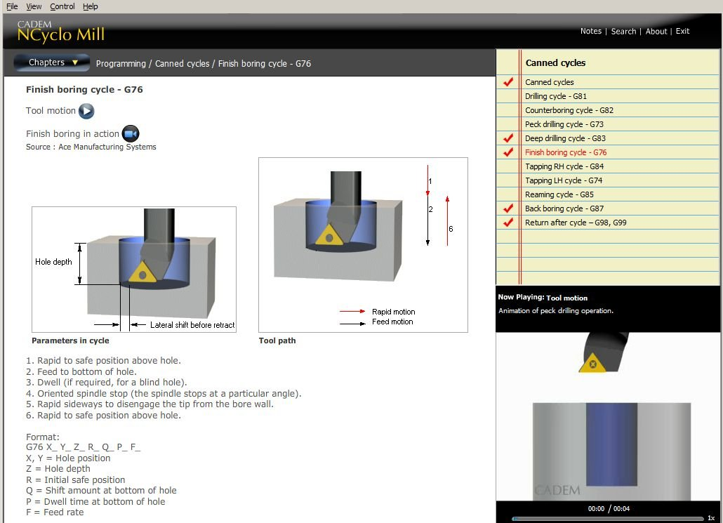 CADEM NCyclo Mill - Multimedia CNC teaching software: Amazon co uk