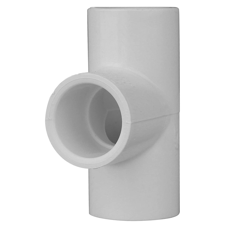 CHARLOTTE PIPE 1/2 SCH 40 TEE SXSXS Contractor Pack Pressure (100 Unit Box)