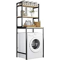 Wasmachinerek Verstelbare badkamerplank boven het toilet Opbergrek voor wasgoed