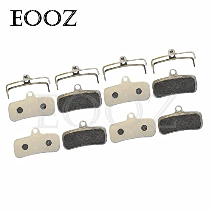 Semi-Metallic Disc Brake Pads For SHIMANO Saint M810 M820 ZEE M640 H01 4 PAIRS