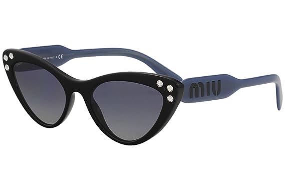 9311684f79a Amazon.com  Miu Miu Women s Crystals Cat Eye Sunglasses