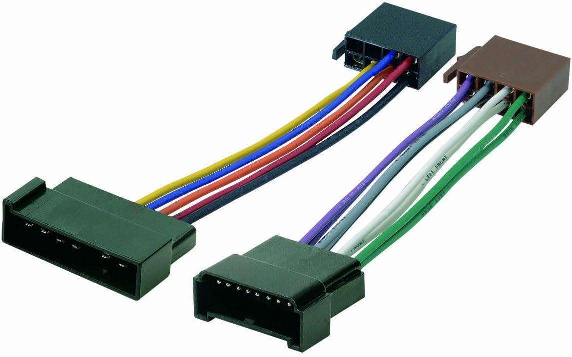 Phonocar 4/716 - Cable con conectores ISO para radio de coche (modelos Galaxy, Alhambra y Sharan), multicolor