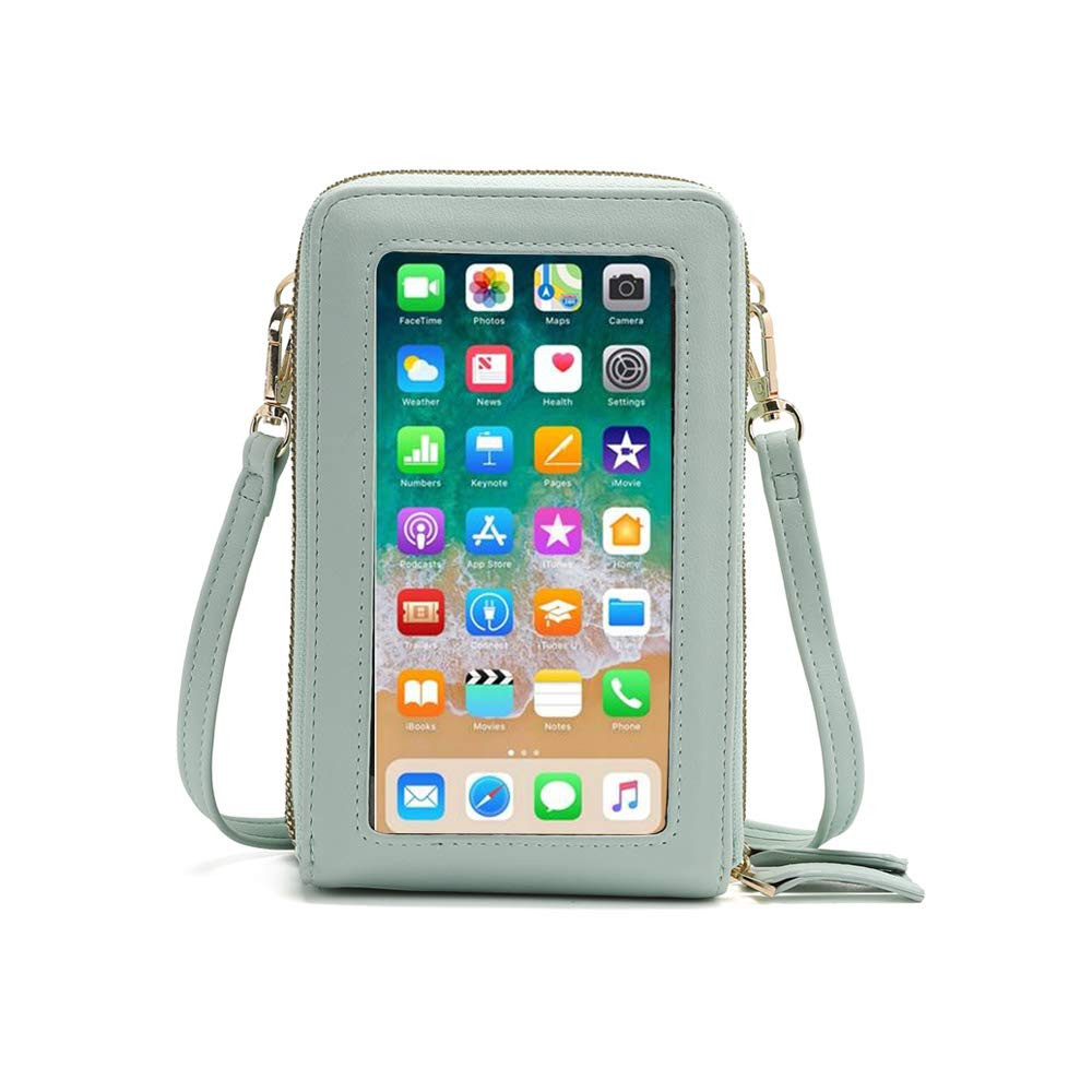 Small Crossbody Phone Bag for WomenCellphone Shoulder Bags Card Holder Wallet Purse