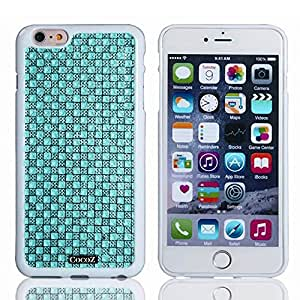 Cocoz® Apple Iphone 6 4.7 Case Beautiful Sparkling Particles Slip Design Tpu Material Slim Case for Apple Iphone 6 4.7 Inch Release on 2014 (Light Blue)