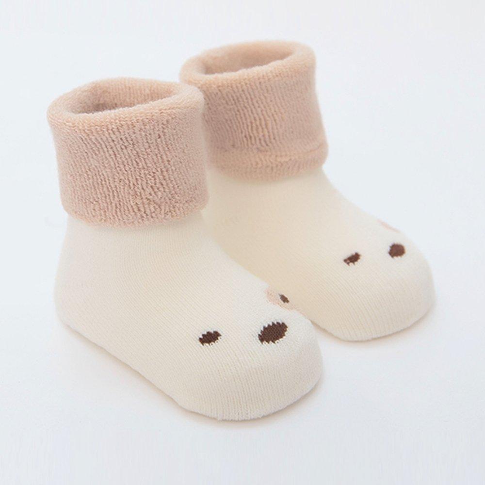 3 Pairs baby socks Delicate Workmanship Soft Cotton Fabric Fun /& Cute