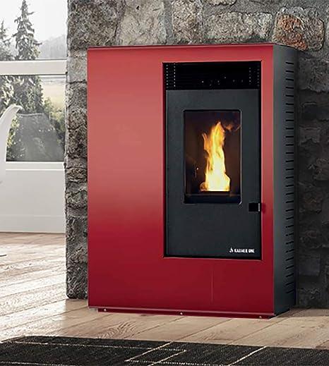 Estufa a PELLAS karmek One Ibiza de 10,51 kW de aire de ventilación de