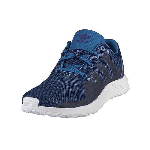 Flux Tech J Blau adidas ZX ADV S76427 FarbeWeiß CxQBroeWd