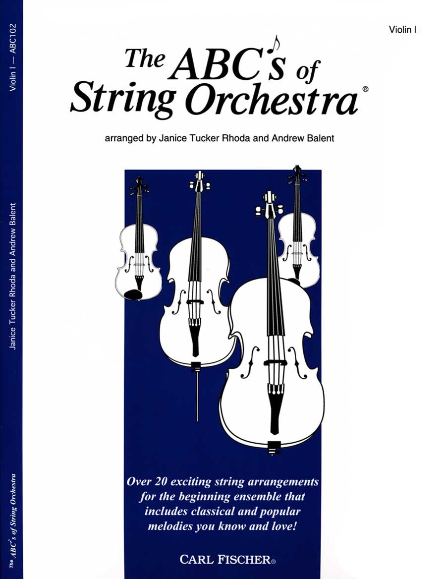 The ABCs of String Orchestra - Violin I part