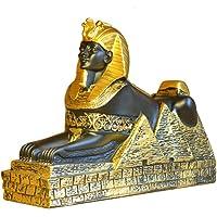 Sfinge egiziana, antica statua egiziana Decorazione egiziana da scrivania Artigianato egiziano Souvenir turistico