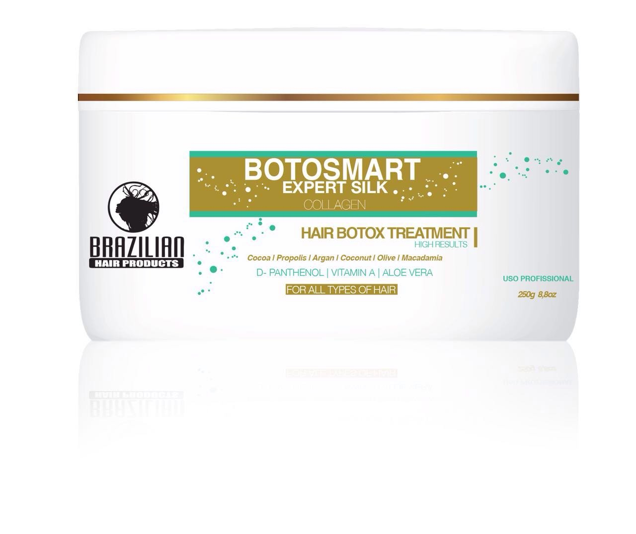 Brazilian BotoSmart Expert Silk Collagen Hair 250ml NEW brazilianhairproducts