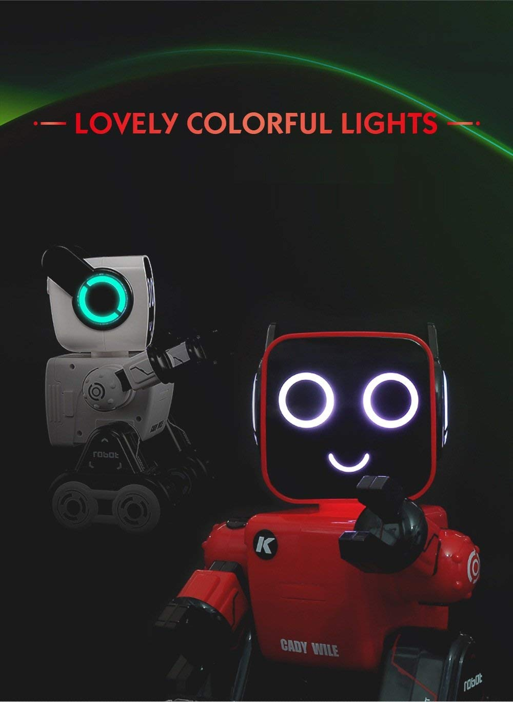 Hi-Tech Wireless Interactive Robot RC Robot Toy for Boys, Girls, Kids, Children (Red) by HI-TECH OPTOELETRONICS CO., LTD. (Image #7)
