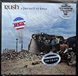 RUSH A Farewell To Kings Limited Pressing on 200 Gram Vinyl LP REMASTERED Direct to Metal Mastering new W/Stickers