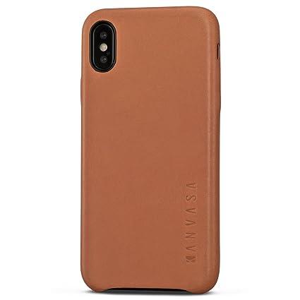 Iphone X Leder Case Braun