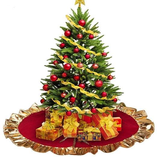 Lim - Falda Arbol De Navidad Decoraciones De Navidad: Base Arbol ...