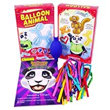 Balloon Animal University now with Qualatex Balloons and Online Training Video Series Access! Learn to Make Balloon Animals Starter Kit