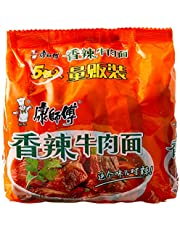 KSF Instant Noodle, Spicy Beef, 102g (Pack of 5)