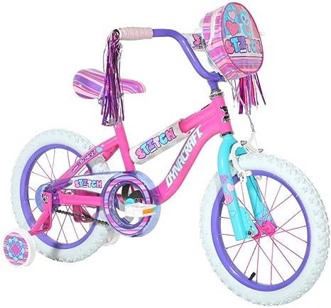 Dynacraft Stitch - Bicicleta (40,6 cm), color rosa: Amazon.es ...