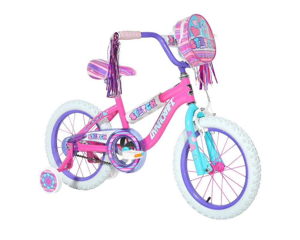 Dynacraft Stitch 16'' Bike, Pink