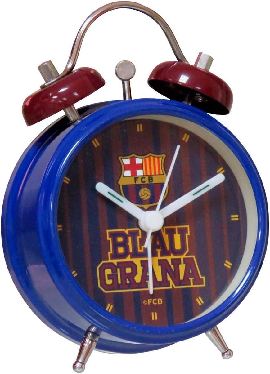 FC Barcelona RD-131-BC Despertador Campanas: Amazon.es: Juguetes y juegos