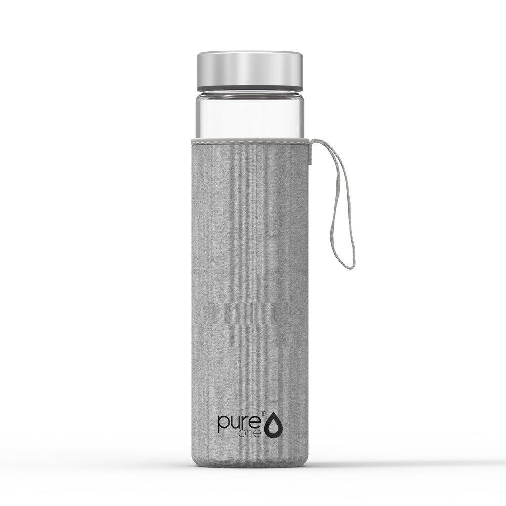Pure One Trinkflasche aus Borosilikat-Glas 750ml | BPA, BPS ...