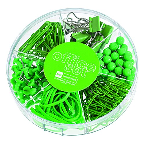 candy-colors-office-set-245pcs-apple-green
