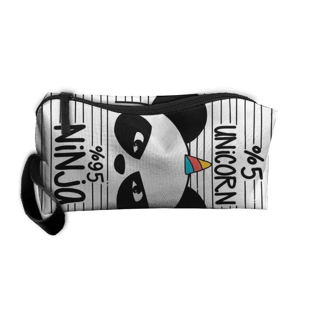 Amazon.com: Cosmetic Bag Unicorn Ninja Brush Pouch Makeup ...