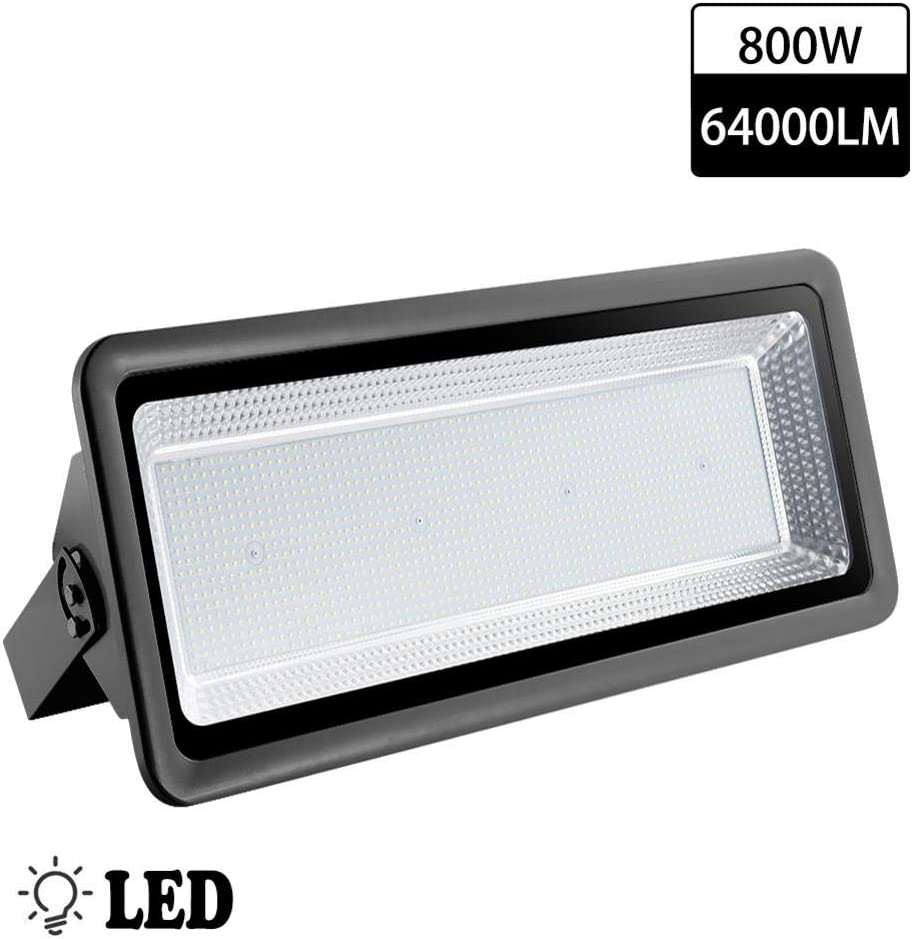 titracone 100W Led Flood Light Landscape Spotlights for Yard Lawn Garden Garage IP65 Waterproof Wall Light 10000LM Cold White 6000K Outdoor Security Light Super Bright