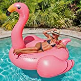 Giant Pink Flamingo Pool Float, Raft, Great For Swimming Pools